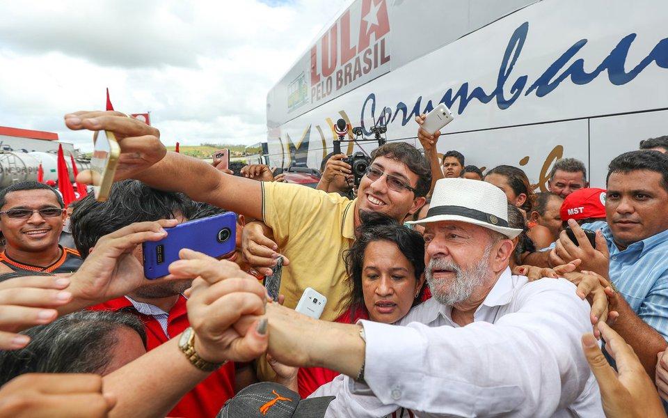 24/08/2017- Pernambuco- Lula visita acampamento do MST em Xexéu, em Pernambuco. Foto: Ricardo Stuckert
