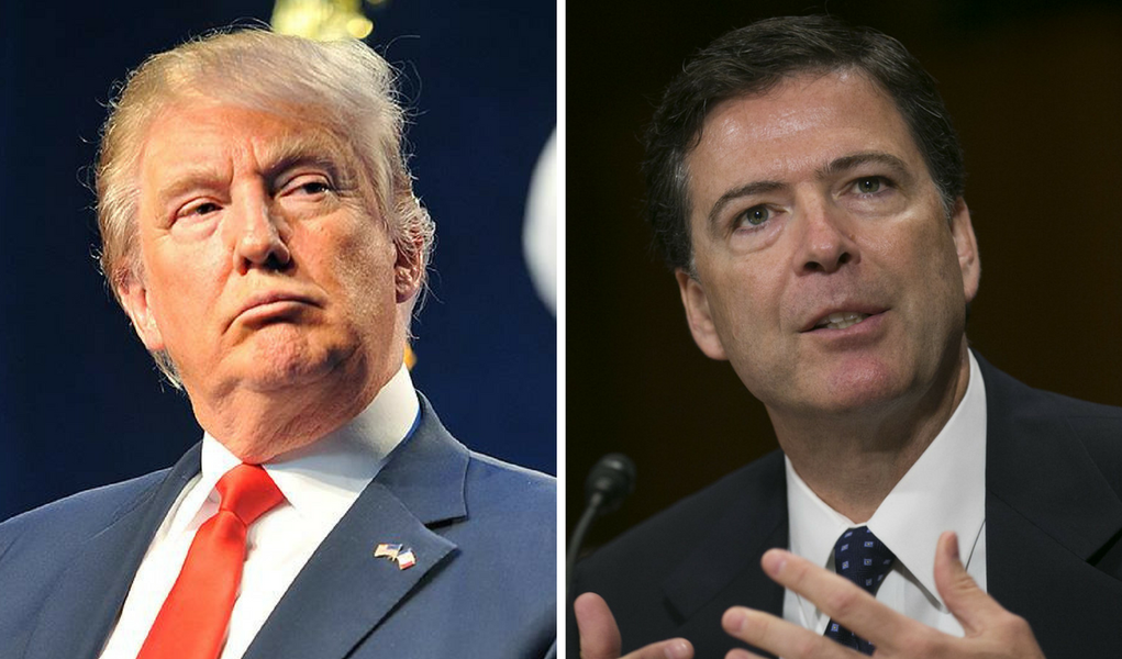 James Comey, ex-diretor do FBI demitido por Donald Trump