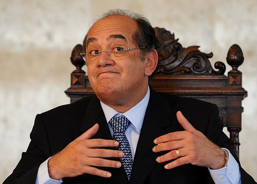 Ministro do STF e presidente do TSE, Gilmar Mendes