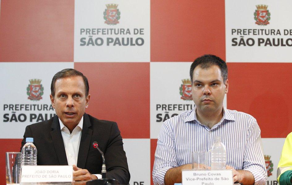 Joao doria e Bruno covas