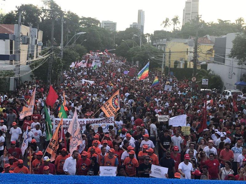 Greve geral em Recife