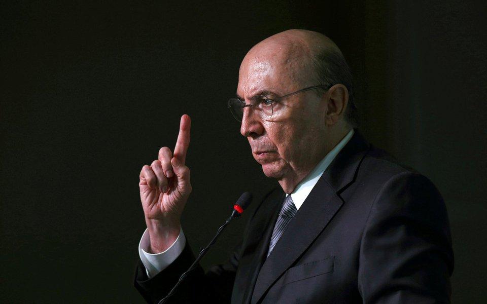 Ministro da Fazenda, Henrique Meirelles, durante conferência em Brasília, Brasil 23/8/2017 REUTERS/Adriano Machado