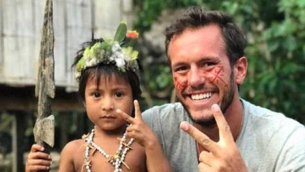 Brasileiro Jonatan Diniz, que foi preso na Venezuela