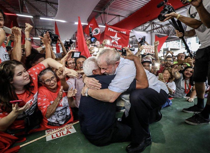 Encontro com movimentos sociais em Maceió, Alagoas. Foto Ricardo Stuckert