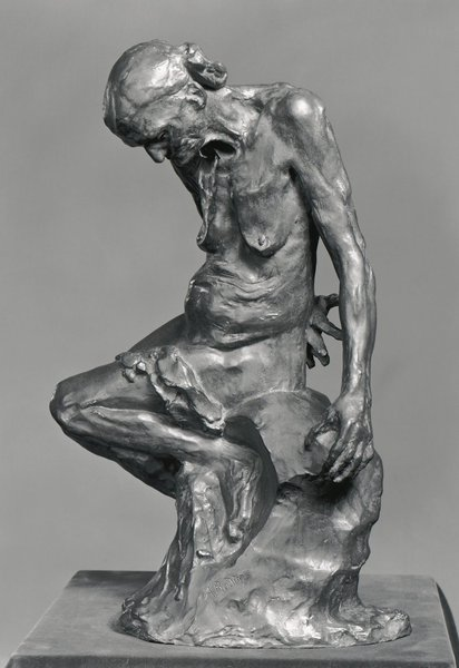 Working Title/Artist: Auguste Rodin: Old Courtesan, or She Who was Once the Helmet-Maker's Wife, 1855 Department: ESDA Culture/Period/Location: HB/TOA Date Code: Working Date: mma digital photo #131207