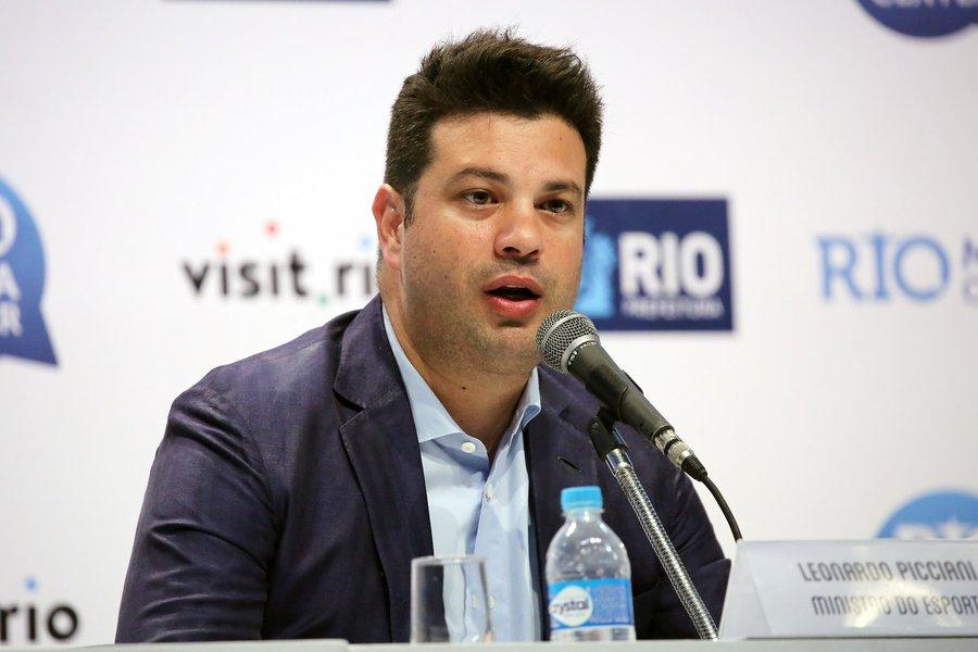 18/09/16 - Ministro do Esporte, Leonardo Picciani, concedeu entrevista coletiva onde fez balanço dos Jogos Paralímpicos Rio 2016. Fotos: Francisco Medeiros/ME.