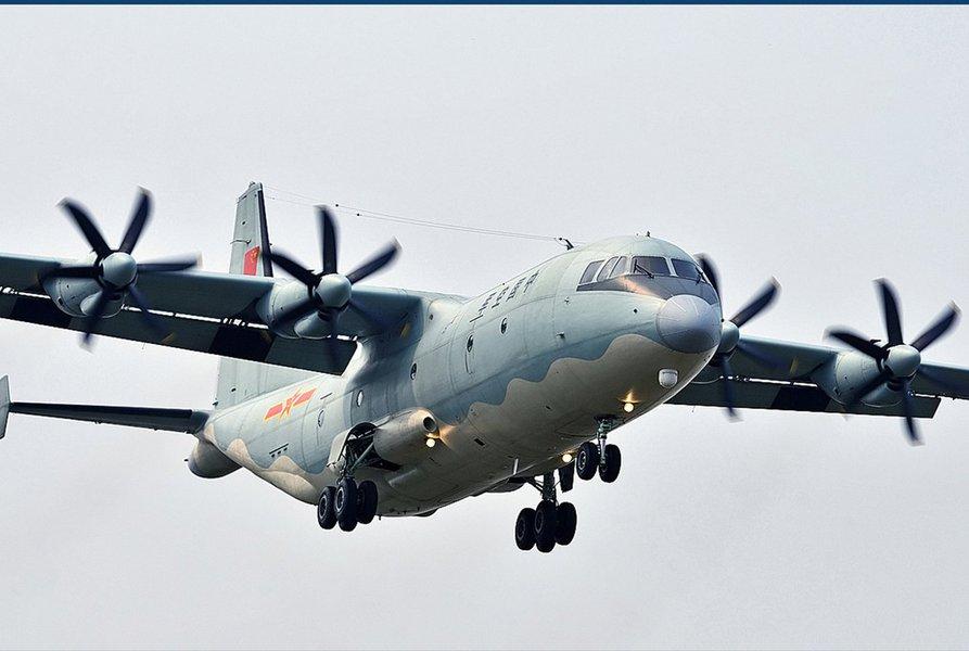 Avião de transporte de tropas tipo Shaanxi Y-8 cai em Mianmar com mais de 100 militares a bordo