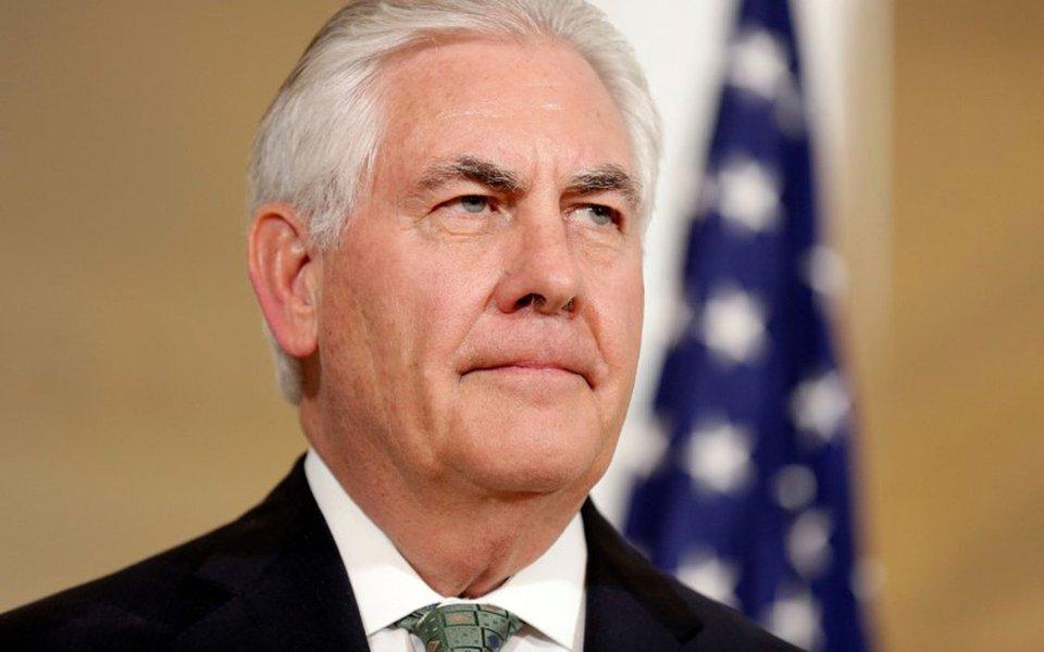 Secretário de Estado dos Estados Unidos, Rex Tillerson. 05/04/2017 REUTERS/Joshua Roberts