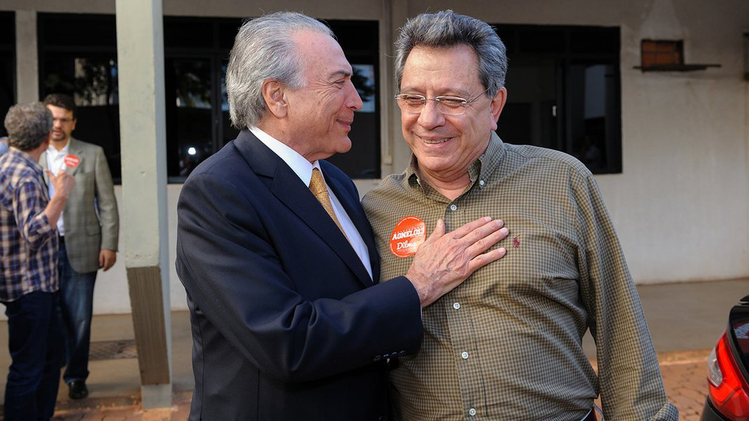 Michel Temer e assessor Tadeu Filippelli