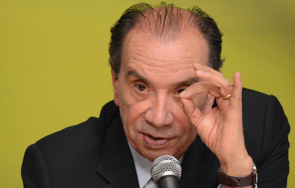 Senador e ministro das Relações Exteriores, Aloysio Nunes (PSDB)