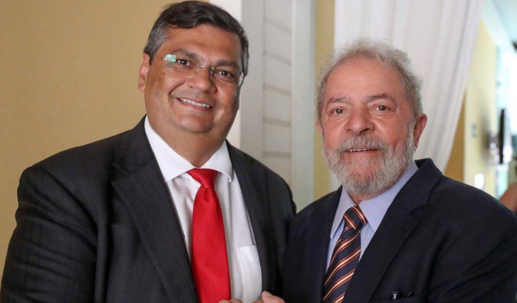Flávio Dino e Lula