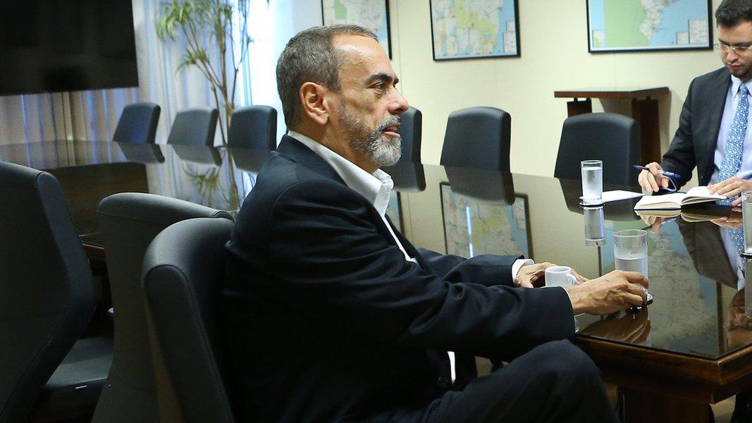 Brasília-DF, 18/07/2017. Fernando Coelho Filho, Ministro de Minas & Energia, recebe André Araújo, presidente da SHELL Brasil. Participa ainda: Guilherme Syrkis