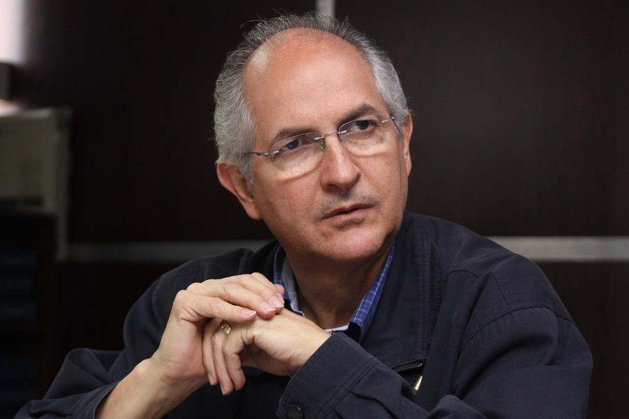 Opositor venezuelano Antonio Ledezma