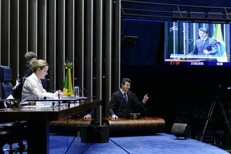 José Medeiros (PSD-MT) no plenário do Senado