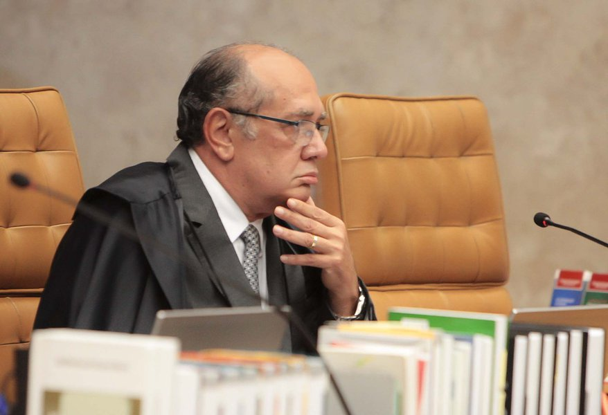 Ministro do Supremo Tribunal Federal (STF) e presidente do Tribunal Superior Eleitoral (TSE), Gilmar Mendes
