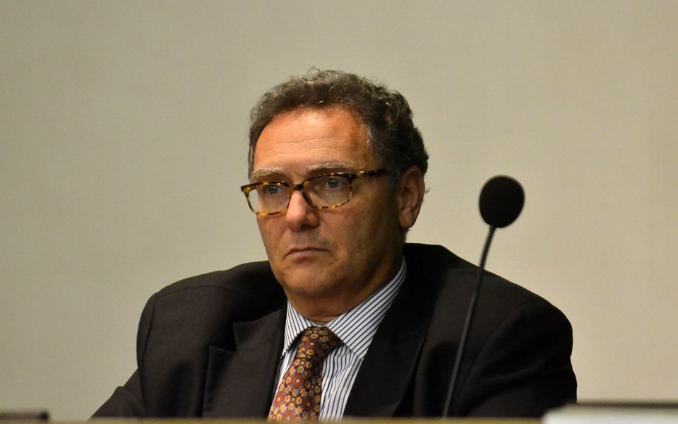 Petrobras apresenta o Plano de Neg�cios e Gest�o para 2015 a 2019. Na foto, Jo�o Adalberto Elek Jr, diretor de governan�a, risco e conformidade (Fernando Fraz�o/Ag�ncia Brasil)