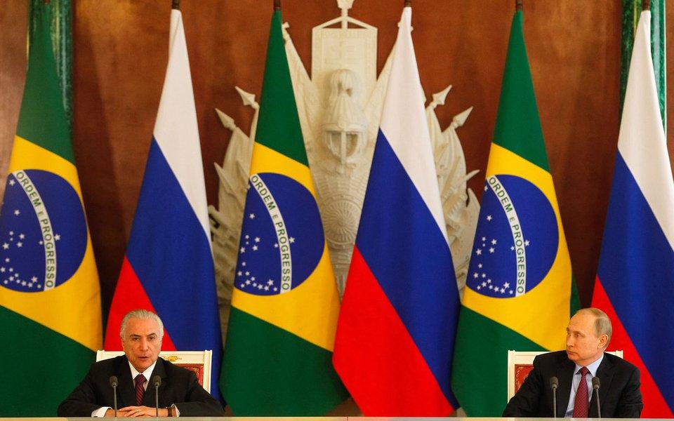 21/06/2017- Moscou- Rússia- Encontro com o senhor Vladimir Putin Presidente da Federação da Rússia. Assinatura de Atos e Declaração à Imprensa. Foto: Beto Barata/PR