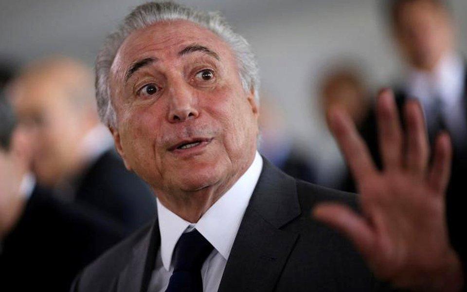 Presidente Michel Temer. 06/04/2017 REUTERS/Ueslei Marcelino