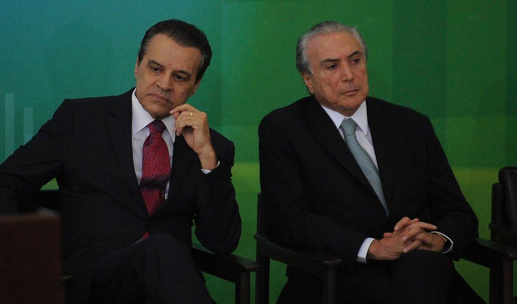 Henrique Alves e Michel Temer (José Cruz/Agência Brasil)