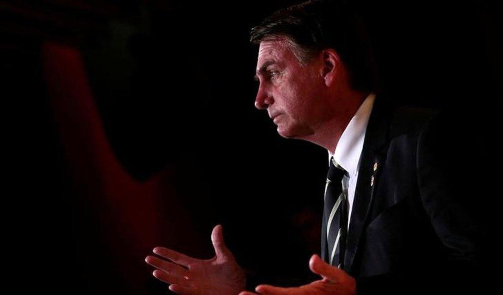Deputado federal Jair Bolsonaro durante evento em São Paulo 27/12/2017 REUTERS/Leonardo Benassatto