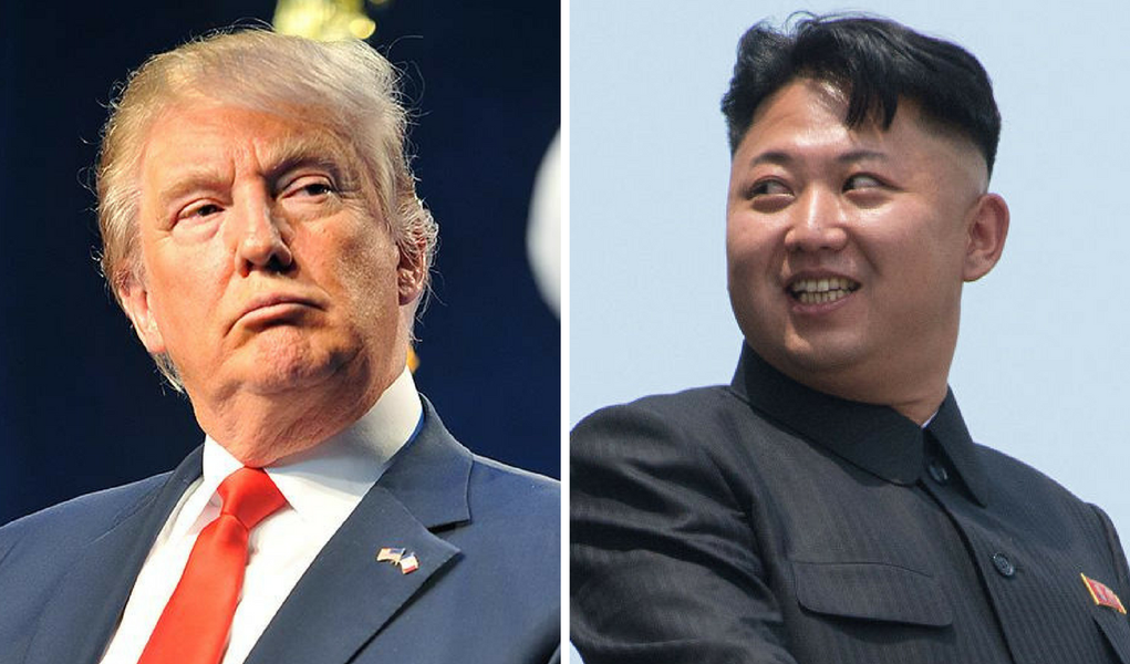 Donald Trum e Kim Jong-un, da Coreia do Norte