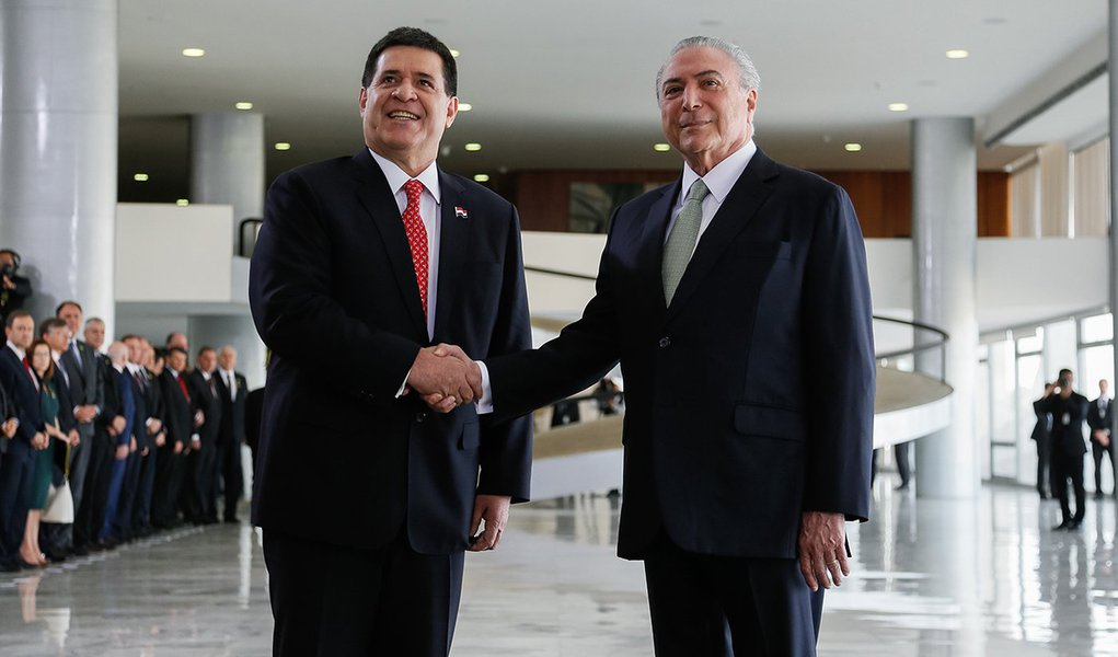 (Brasília - DF, 21/08/2017) Visita Oficial do Presidente do Paraguai, Horacio Cartes. Foto: Beto Barata/PR
