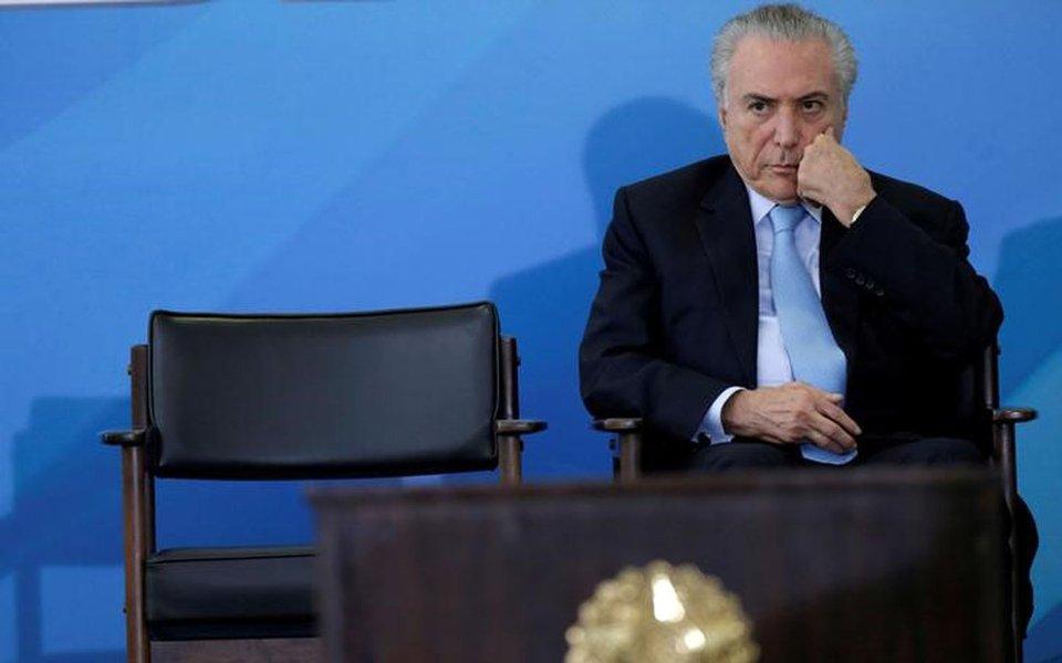 Presidente Michel Temer 29/03/2017 REUTERS/Ueslei Marcelino