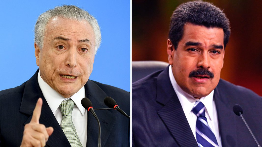 Temer e Maduro