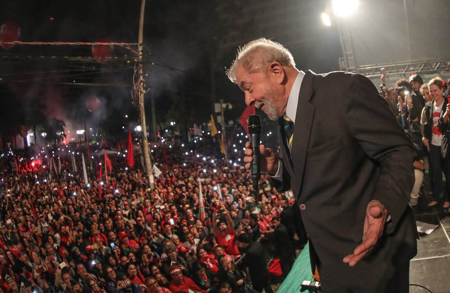 Lula em Curitiba