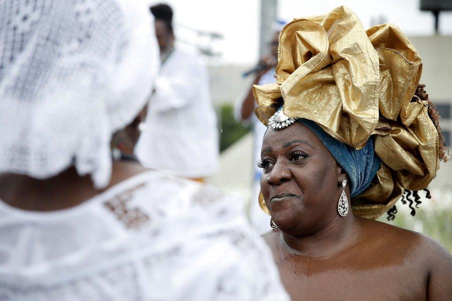 Dia da Consciência Negra, manifestação contra o racismo e intolerância