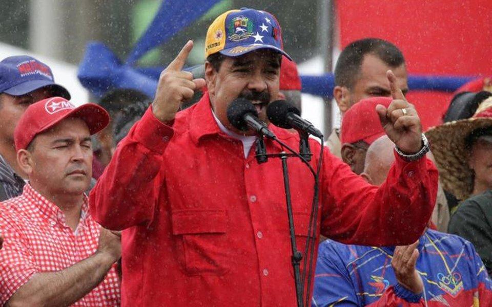 Maduro faz discurso em Caracas 9/3/2017 REUTERS/Marco Bello