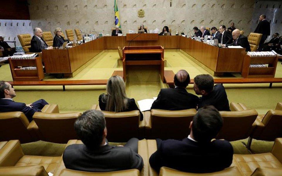 Plenário do Supremo Tribunal Federal em Brasília 22/06/2017 REUTERS/Ueslei Marcelino
