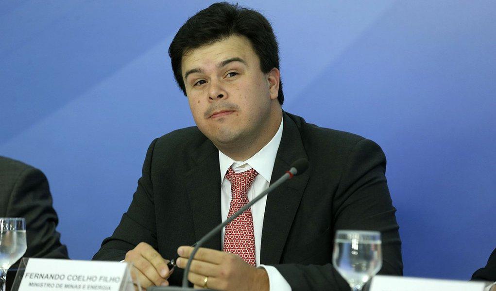 Brasília - Entrevsita coletiva com o ministros de Minas e Energia, Fernando Coelho Neto (Valter Campanato/Agência Brasil)