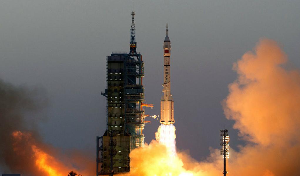 Foguete china espaço