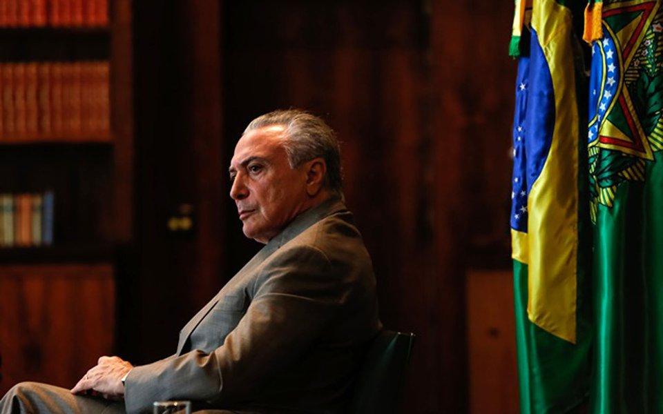 15/05/2017- Bras�lia - DF, Brasil- Presidente Michel Temer durante entrevista para o programa Frente a Frente da Rede Vida. Foto: Marcos Corr�a/PR