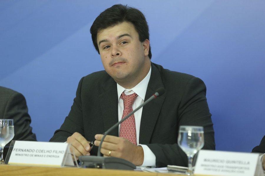 Brasília - Entrevsita coletiva com o ministros de Minas e Energia, Fernando Bezerra Coelho Filho (Valter Campanato/Agência Brasil)