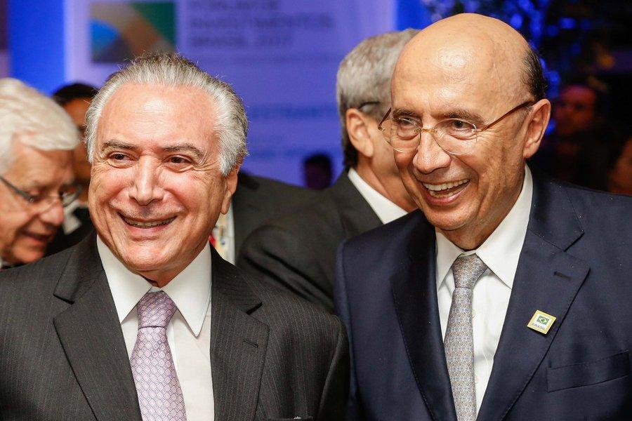 29/05/2017) (São Paulo - SP Brasil Presidente Michel Temer, Governador Geraldo Alckmim , João Doria e Henrique Meirelles no Jantado Fórum de Investimentos Brasil 2017. Foto: Marcos Corrêa/PR