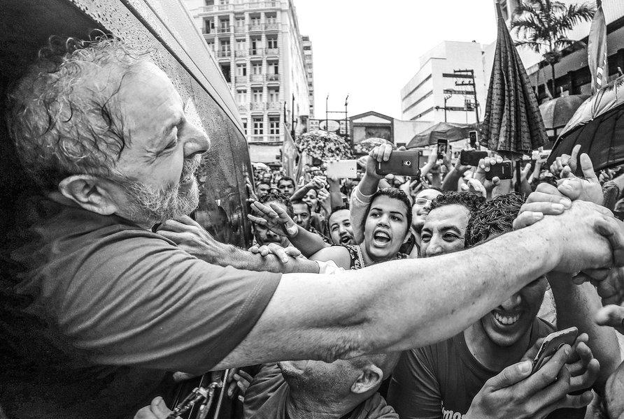 02/04/2016- Foretaleza- CE, Brasil- O ex-presidente Luiz Inácio Lula da Silva participa de ato contra o impeachment, em Forataleza (CE). Foto: Ricardo Stuckert/ Instituto Lula