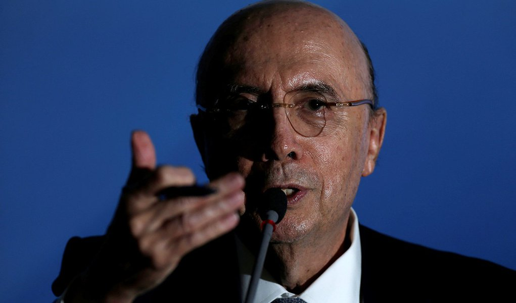 O ministro da Fazenda, Henrique Meirelles. 07/04/2017 REUTERS/Ueslei Marcelino