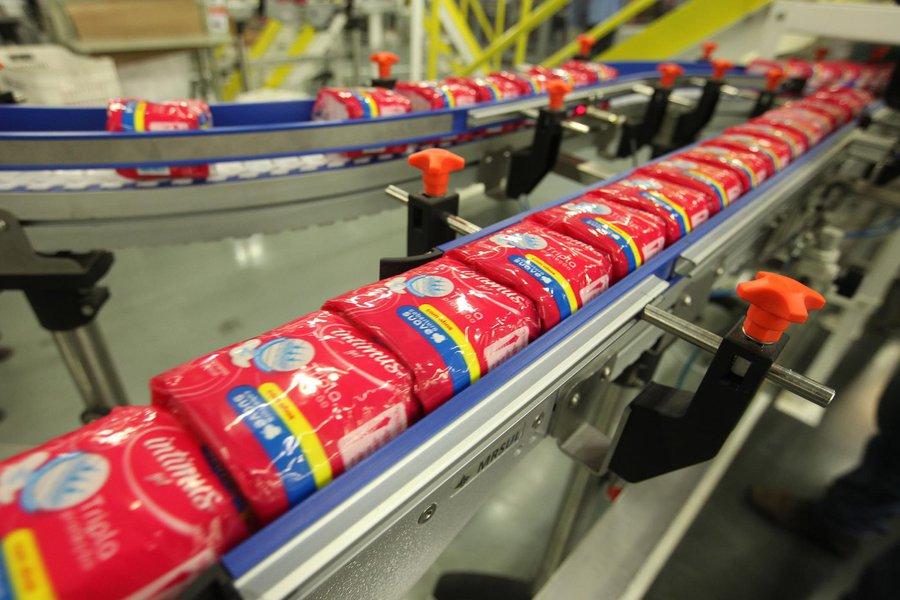 Kimberly-Clark- Polo Acr�lico Na foto:
