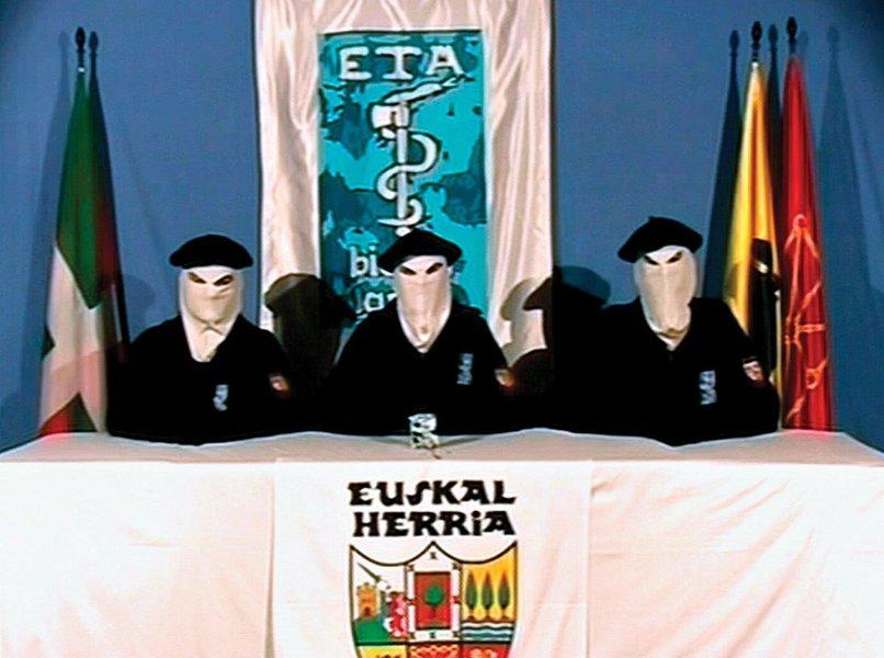Grupo separatista basco ETA