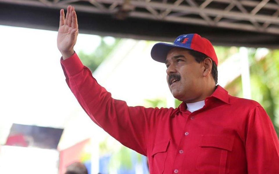 Presidente da Venezuela, Nicolás Maduro, durante evento no Palácio Miraflores, em Caracas 19/09/2017 Palácio Miraflores/Divulgação via REUTERS