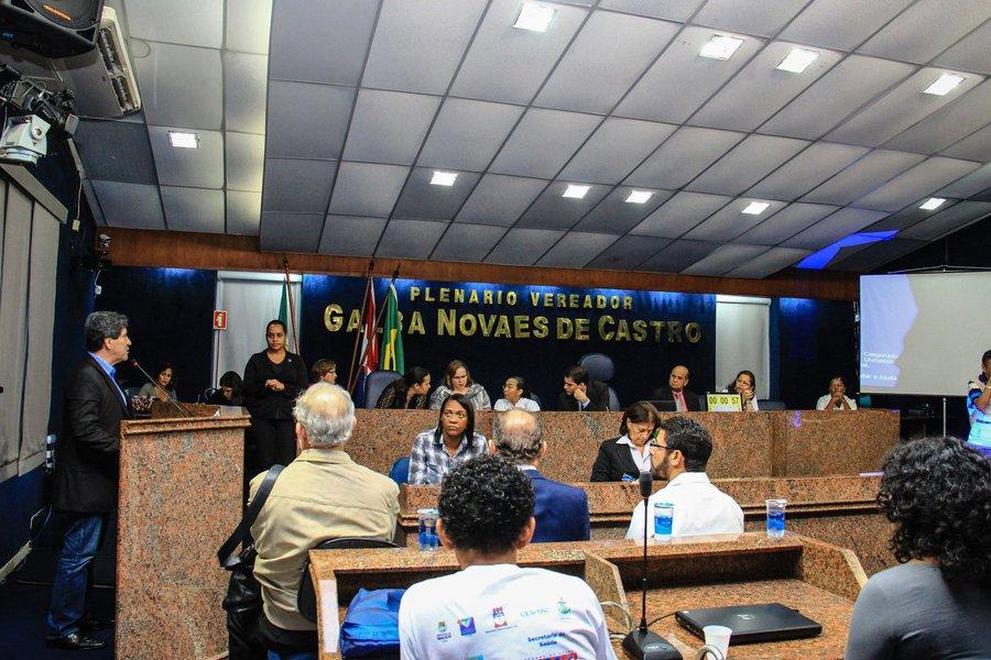 Audiência Pública sobre Saúde Mental. Foto: Pei Fon/ Secom Maceió