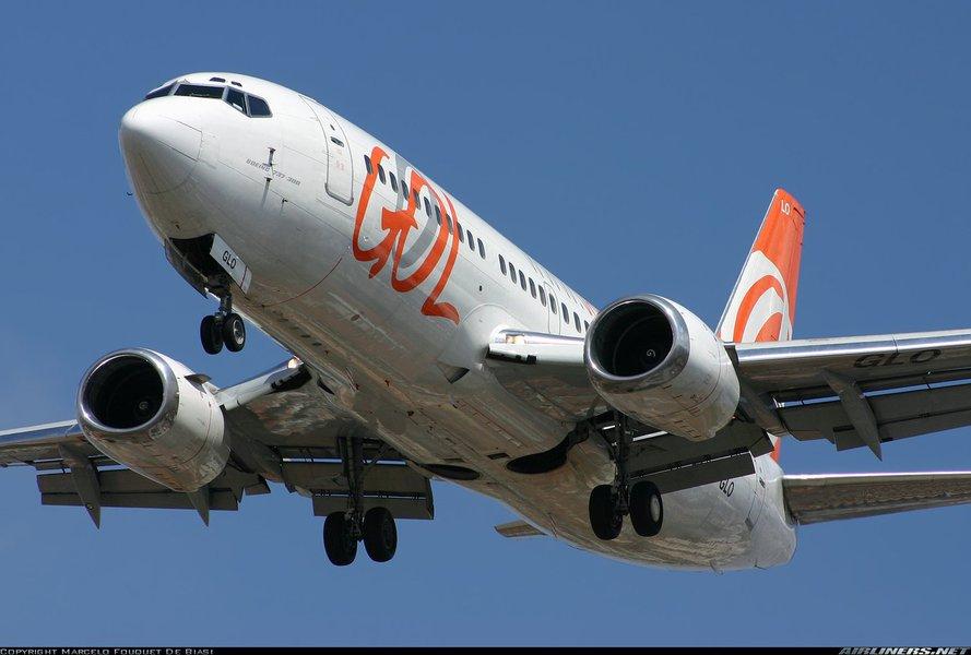 Avião da Gol, companhia aérea