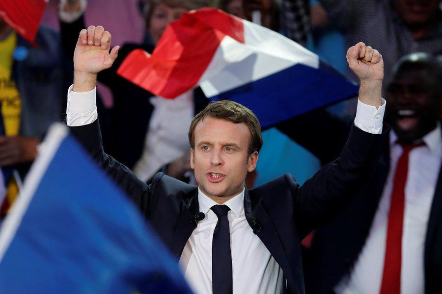 Emmanuel Macron, candidato da eleição presidencial francesa, em evento de campanha em Albi, na França. 04/05/2017 REUTERS/Benoit Tessier