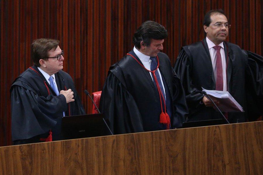 TSE, julgamento chapa Dilma-Temer, Herman Benjamin e Fux