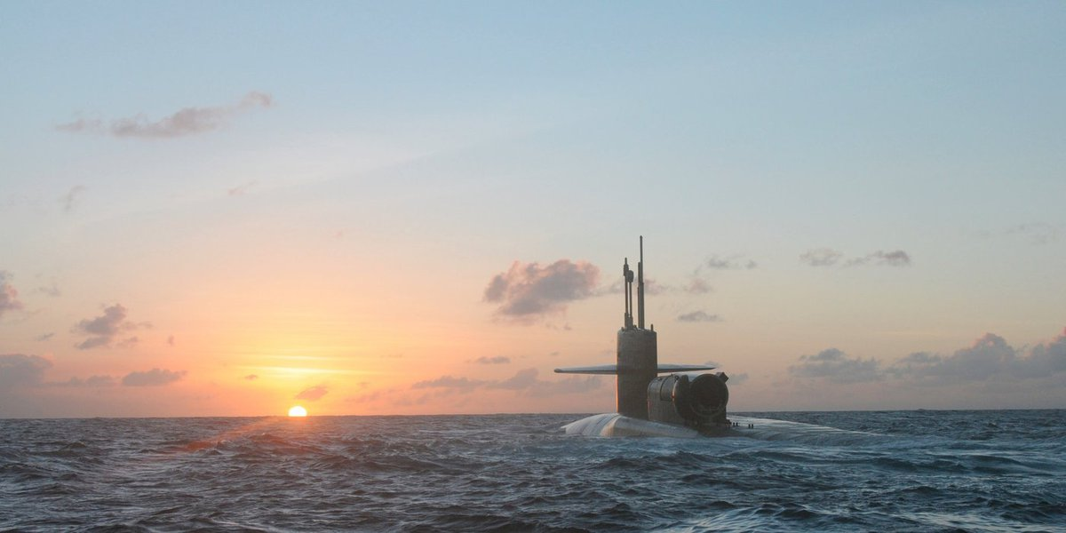 Submarino nuclear dos EUA USS Michigan