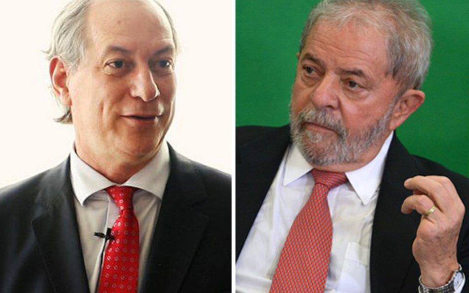 Ciro e Lula