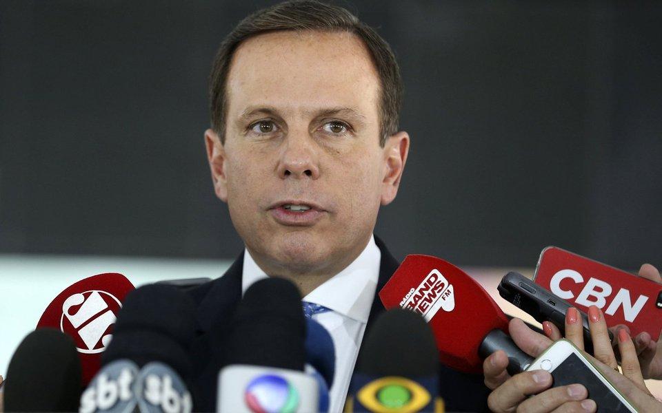 Brasília - O prefeito eleito de São Paulo, João Doria Junior, durante entrevista coletiva após encontro com o presidente Michel Temer (Valter Campanato/Agência Brasil)