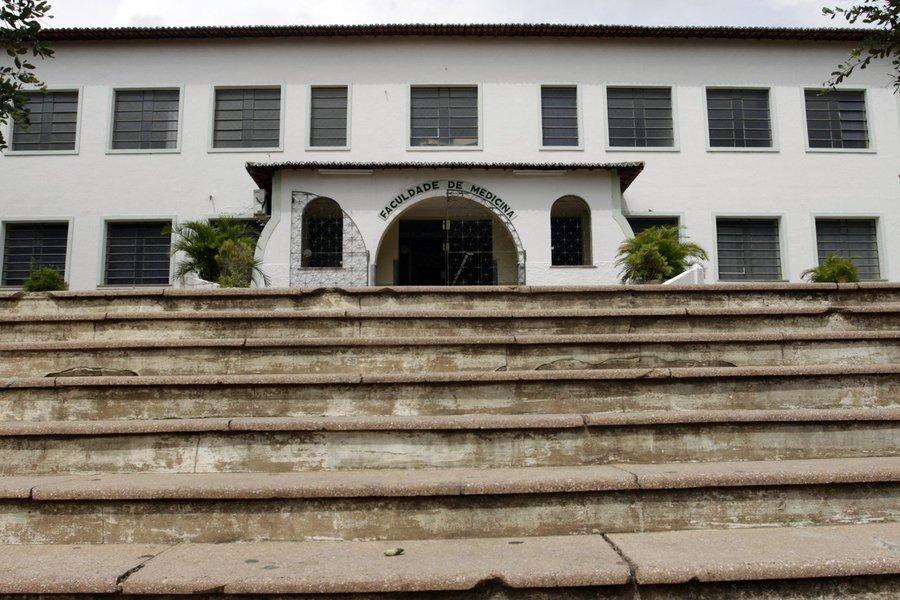 Ensino Superior no Cariri Na foto: Fachada da UFC (Faculdade de Medicina da Universidade Federal do Cear�), em Barbalha Foto: Igor de Melo, em 12/02/2011